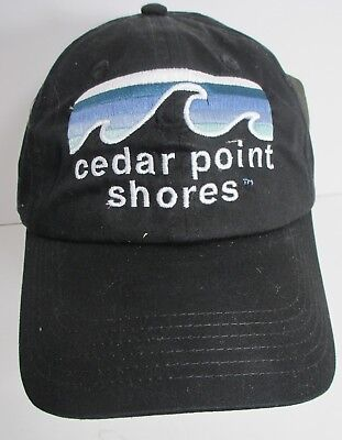 Cedar Point Shores Hat Cap USA Embroidery Sandusky Ohio Unisex New