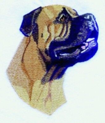 Large Embroidered Zippered Tote - Bullmastiff BT3588