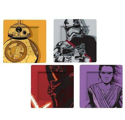 Star Wars Plates 4-Pack Kylo, BB-8, Stormtrooper & Phasma (Comic)