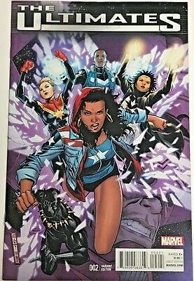 Ultimates#2 Vf/nm 2016 Marvel Comics