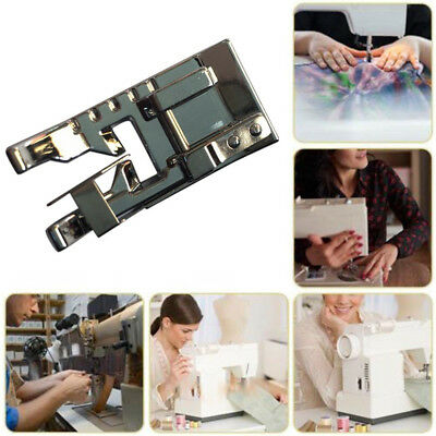 CO_ Snap on Joining Stitch in Ditch Foot Presser for Household Sewing Machine Su