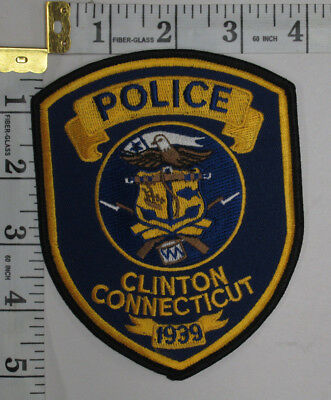 Clinton Connecticut Police Department Shoulder Patch