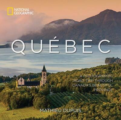 Quebec by Mathieu Dupuis Hardcover Book Free Shipping!
