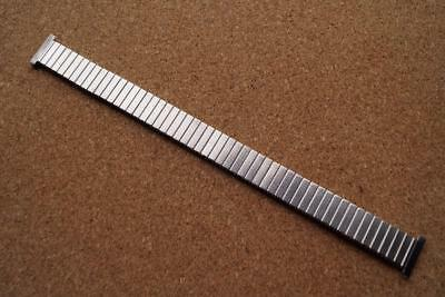 NEW Old stock STAINLESS STEEL Expandable WATCH BRACELET  14mm