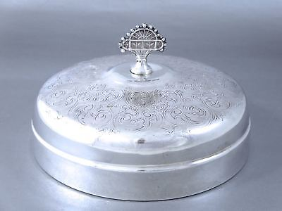 Antique VICTORIAN AESTHETIC MUFFIN DISH LID COVER