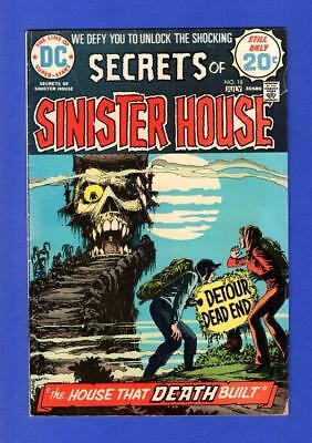 Secrets Of Sinister House #18 Fn- Bronze Age Dc Comic Last Issue
