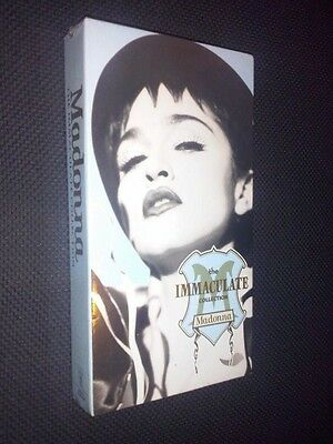 Madonna SEALED USA The Immaculate collection VHS Video 13 tracks NEW rebel heart