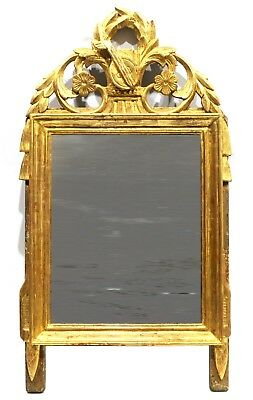 MIROIR D'EPOQUE LOUIS XVI, FRANCE 18ème SIECLE