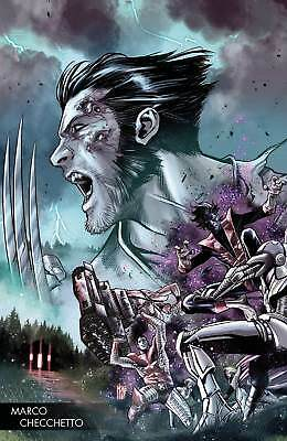 Hunt for Wolverine #1 Checchetto Young Guns Variant Marvel VF/NM Comics Book ...