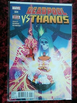 Deadpool Vs. Thanos #4 -bagged boarded