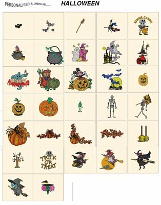 HALLOWEEN. CARD jef files for janome 300e machine embroidery designs fall