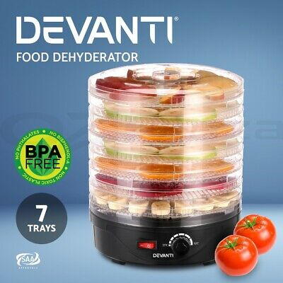 Devanti 2400W Electric Ceramic Tower Fan Heater Portable Oscillating Remote SR