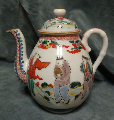 CINA (China): Very fine and old Chinese porcelain teapot