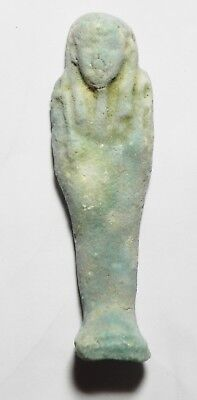 Zurqieh -As3863- Ancient Egypt - Faience Ushabti, 600 - 300 B.c