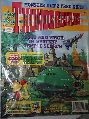 Thunderbirds - The Comic. No 89 March 1995. ITC. With Badge