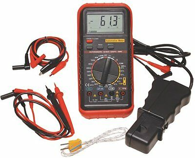 Atd Tools ATD-5570K Deluxe Automotive Meter With Rpm And Temperature Functions