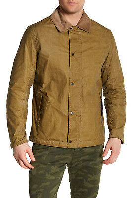 $395 Mens Barbour International Steve Mcqueen Waxed Jacket Size M Medium