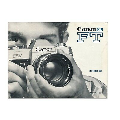 Canon FT QL *Original Manual*