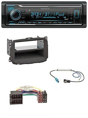 Kenwood Bluetooth MP3 USB DAB Autoradio für Alfa Romeo Giulietta (2010-2014)
