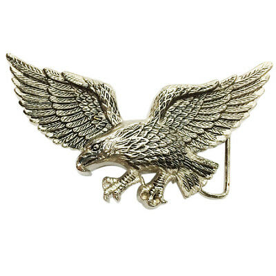 Zinc Alloy Antique Western Belt Buckle Flying Eagle Casual Business Buckle