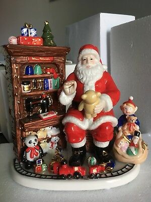 """Santa's Workshop"" Limited Edition 0584 of 5000 Royal Doulton Holiday Traditions"