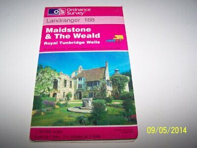 Maidstone and the Weald, Royal Tunbridge... by Ordnance Survey Sheet map, folded