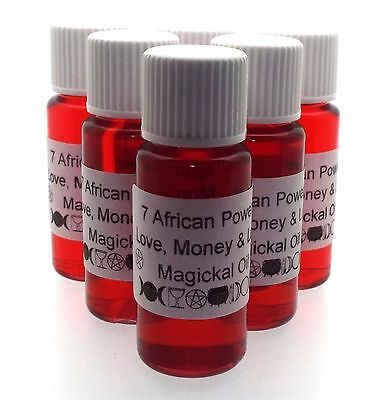 7 AFRICAN POWERS OIL / Used to bring Love, Money & Luck