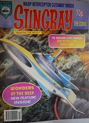 Stingray - The Comic. No 7 .January 2nd - 15th 1993. ITC