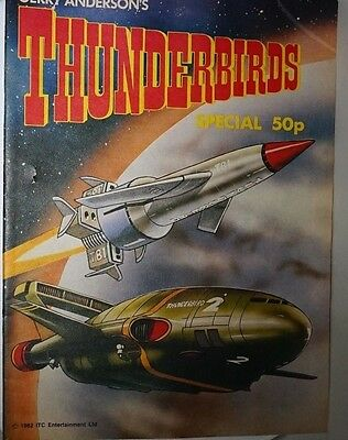 Thunderbirds Special Comic 1982 GERRY ANDERSON ITC