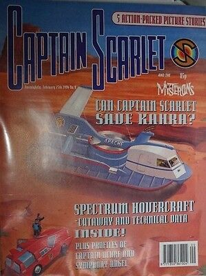 Captain Scarlet - The Comic. No 9. February 1994. ITC