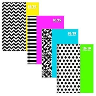A5 2018 - 2019 Week To View Student Spiral Bound Hardback Academic Diary Planner
