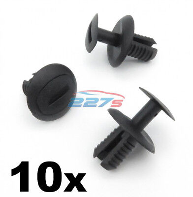 10x 8mm Wheel Arch Lining & Rear Bumper Clips to fit the VW UP! & VW Crafter