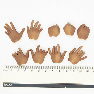 XB31-27 1//6 Scale HOT Male Hands 3 Pairs /& Feet 1 Pairs Mens Hommes TOYS