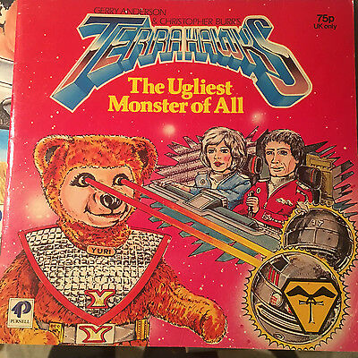 Terrahawks The Ugliest Monster Of All Story Book Gerry Anderson Purnell 1984