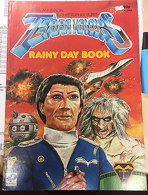 Terrahawks Rainy Day Book Gerry Anderson Purnell 1984