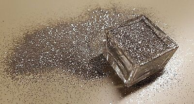 hq decor glitzer silber f r wandfarbe dispersionsfarbe glitter glimmer dekor 40g eur 19 99. Black Bedroom Furniture Sets. Home Design Ideas
