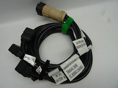 39M5445 IBM Power Supply Cable 16A 2.8M Iec 320-C20 200-240V 9-Pin Bladecenter H