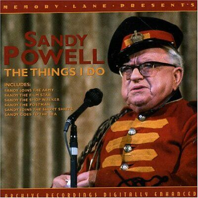 Sandy Powell - The Things I Do - Sandy Powell CD 92VG The Cheap Fast Free Post