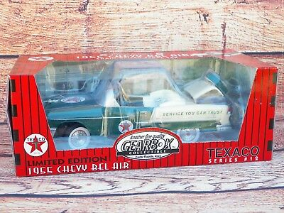 Texaco Gearbox Toy 1955 Chevy Bel Air Chain Driven Pedal Car-NEW