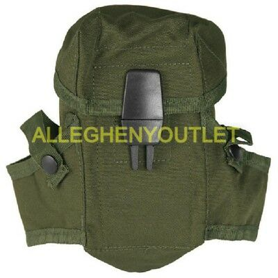 US Military Army OD Small Arms Ammo Pouch Case 3 Mag Magazines NEW