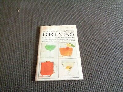 Vintage Cocktail Book Recipes Guide Bartending Drink Mixing Mixed Dell