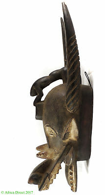 Senufo Firespitter Mask Kponyugo Lizard Cote d'Ivoire Africa SALE WAS $250