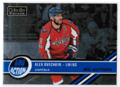 17/18 O-PEE-CHEE PLATINUM HOCKEY IN ACTION INSERT CARDS (IA-XX) U-Pick From List