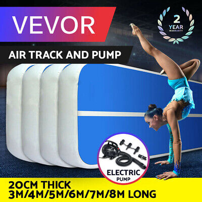 Air Track Inflatable Airtrack 10FT 13FT 16FT 20FT Gymnastics Tumbling Mat GYM 8""
