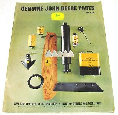 1966--John Deere--Genuine John Deere Parts Catalog--Fairview, Il. Elevator