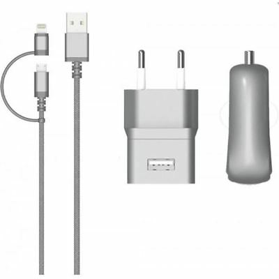 COLORBLOCK Pack Charge - Platinium Silver