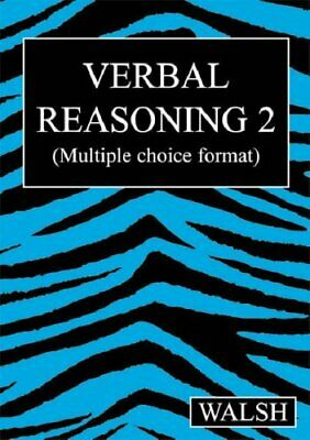 Verbal Reasoning 2 by Walsh, Barbara Paperback Book The Cheap Fast Free Post