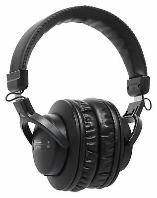 Audio Technica ATH-PRO5XBK Closed-Back, Over-Ear DJ Headphones w/ 40mm Drivers