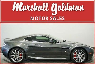 2014 Aston Martin Vantage  2014 Aston Martin Vantage Meteorite Silver/Obsidian Black leather  9,800 miles