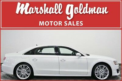 2017 Audi A8  2017 Audi A8L Sport in Glacier White Metallic  only 3,750 miles MSRP was $96,005